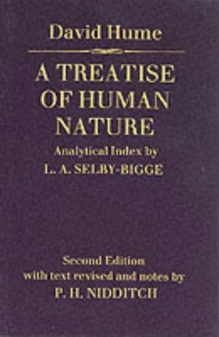 9780198245889: Treatise of Human Nature