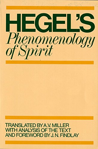 9780198245971: Phenomenology of Spirit
