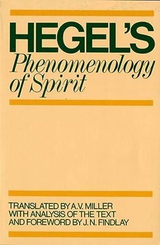 9780198245971: Phenomenology of Spirit