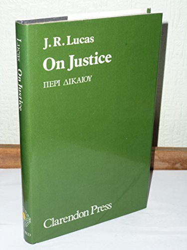 9780198245988: On Justice