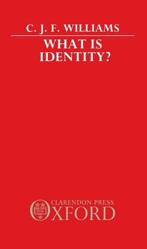 9780198248088: What Is Identity?
