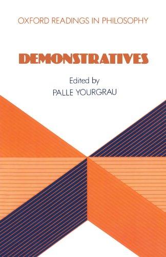 9780198248682: Demonstratives (Oxford Readings in Philosophy)