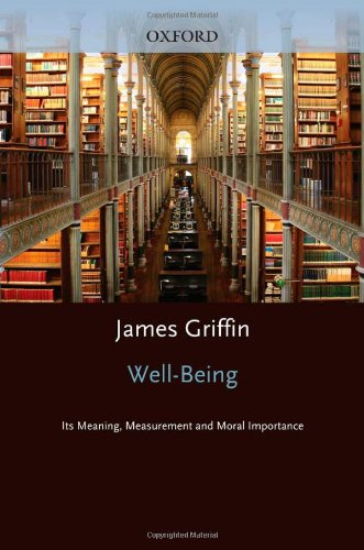 9780198249030: Well-Being: Its Meaning, Measurement, and Moral Importance