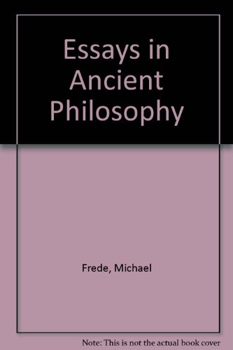 9780198249177: Essays in Ancient Philosophy