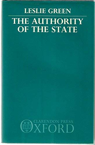 9780198249269: The Authority of the State