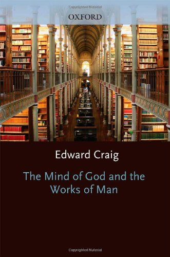 9780198249337: The Mind of God and the Works of Man