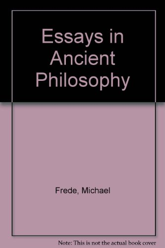 9780198249405: Essays in Ancient Philosophy