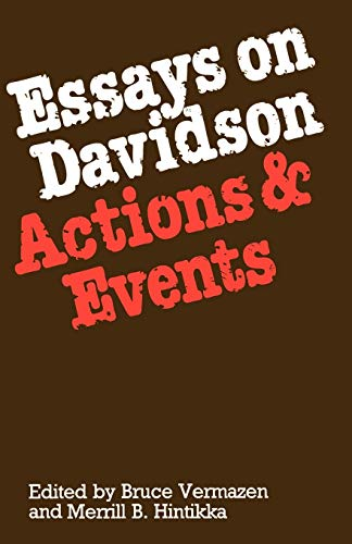 9780198249634: Essays on Davidson: Actions and Events