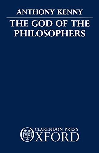 9780198249689: The God of the Philosophers