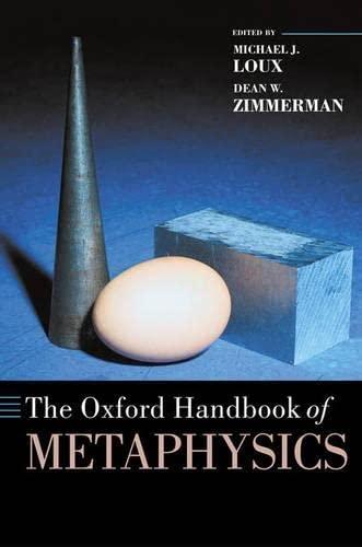 9780198250241: The Oxford Handbook of Metaphysics (Oxford Handbooks)