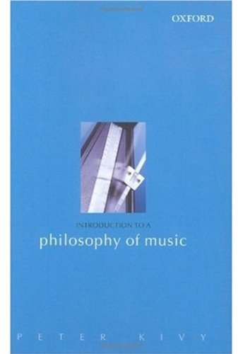 9780198250470: Introduction to a Philosophy of Music