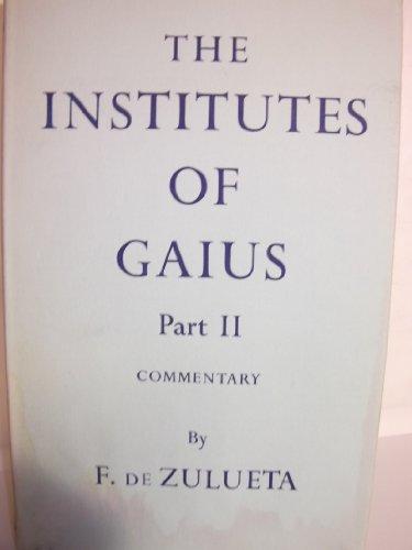 9780198251132: The Institutes: Pt.2