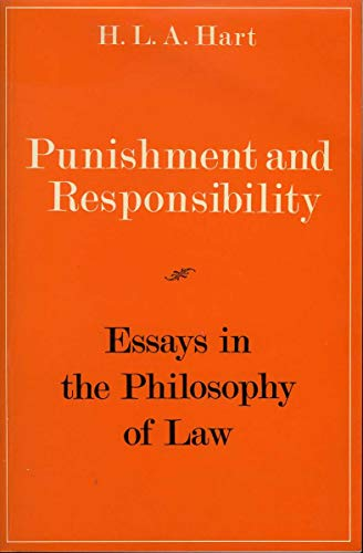 9780198251811: Punishment and Responsibility: Essays in the Philosophy of Law