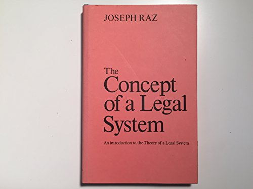 9780198251897: Concept of a Legal System: An Introduction to the Theory of Legal System