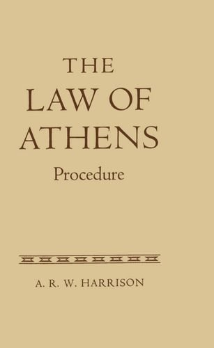 9780198251965: The Law of Athens (v. 2)