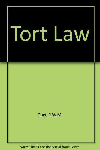 9780198252641: Tort Law