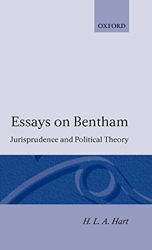 9780198253488: Essays on Bentham: Jurisprudence and Political Theory: Jurisprudence and Political Philosophy