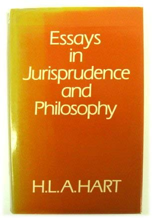 9780198253877: Essays in Jurisprudence and Philosophy