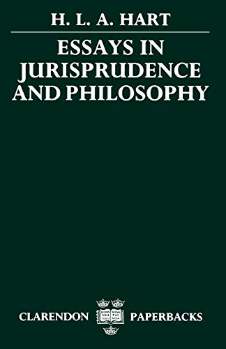 9780198253884: Essays in Jurisprudence and Philosophy