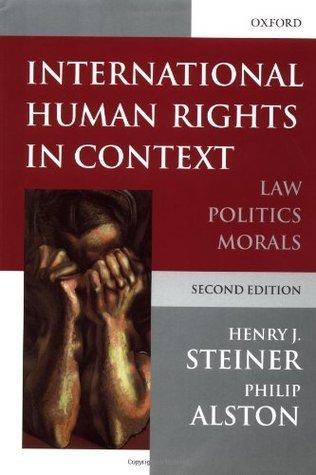 9780198254270: International Human Rights in Context: Law, Politics, Morals