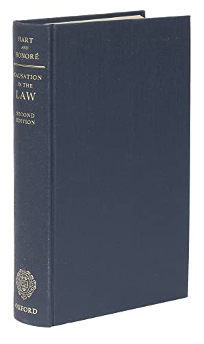 9780198254751: Causation in the Law