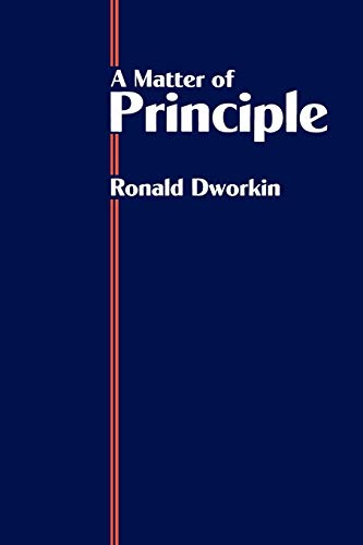 9780198255741: A Matter of Principle