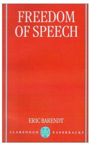 9780198256038: Freedom of Speech