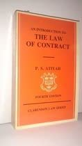 9780198256335: An Introduction to the Law of Contract