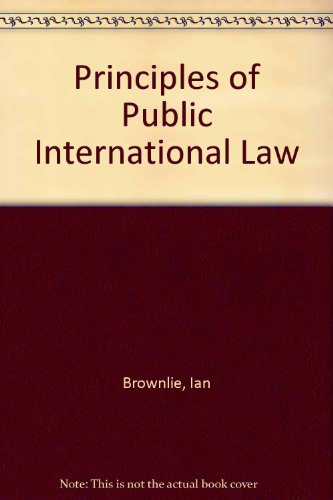 9780198256380: Principles of Public International Law