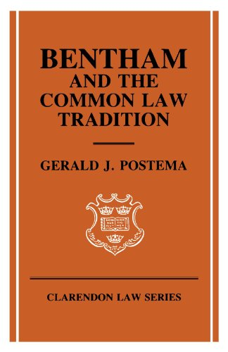 9780198256519: Bentham and the Common Law Tradition (Clarendon Law Series)