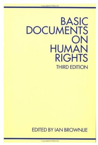 9780198257127: Basic Documents on Human Rights