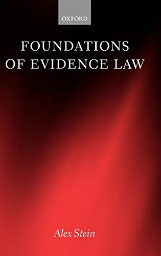 9780198257363: Foundations of Evidence Law