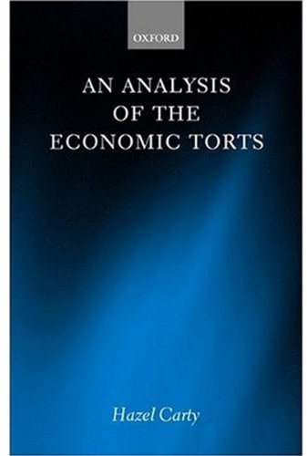 9780198257431: An Analysis of the Economic Torts