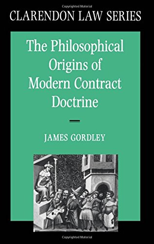 9780198258308: The Philosophical Origins of Modern Contract Doctrine (Clarendon Law) (Clarendon Law Series)