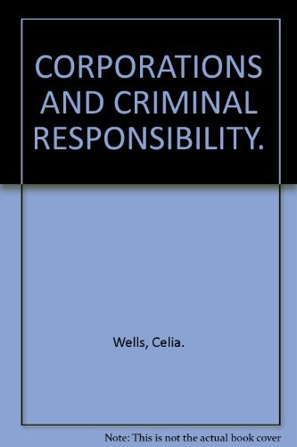 9780198259473: Corporations and Criminal Responsibility