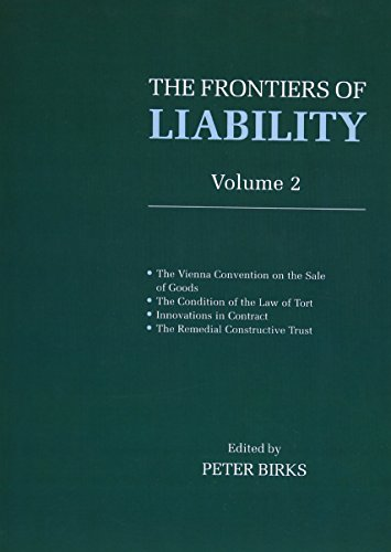 9780198259510: Frontiers of Liability: Volume 2