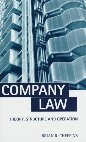 9780198259732: Company Law: Theory, Structure, and Operation