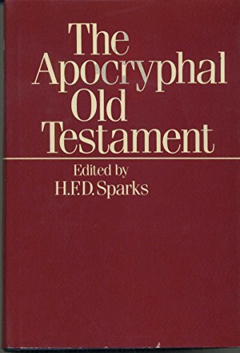 9780198261667: The Apocryphal Old Testament (English and Multilingual Edition)