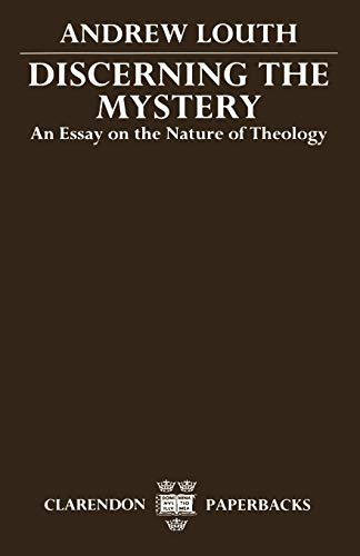 9780198261964: Discerning the Mystery: An Essay on the Nature of Theology (Clarendon Paperbacks)