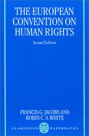 9780198262428: The European Convention on Human Rights