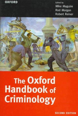 9780198262978: The Oxford Handbook of Criminology