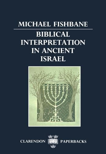 9780198263258: Biblical Interpretation in Ancient Israel