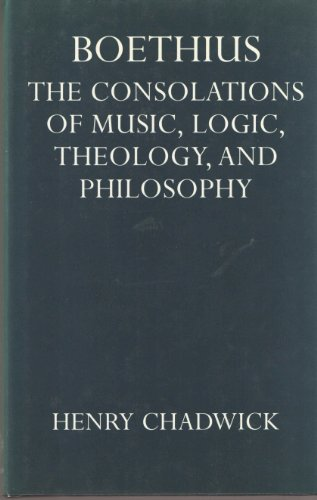 9780198264477: Boethius: The Consolations of Music, Logic, Theology, and Philosophy