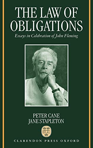 9780198264842: The Law of Obligations: Essays in Celebration of John Fleming