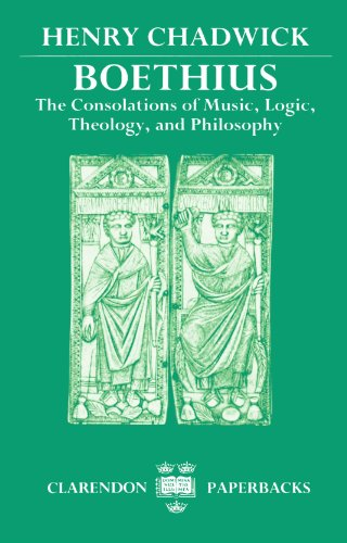 9780198265498: Boethius: The Consolations of Music, Logic, Theology, and Philosophy (Clarendon Paperbacks)