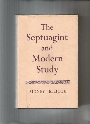 9780198266174: Septuagint and Modern Study
