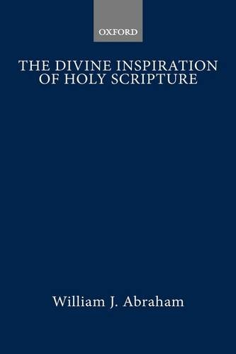 9780198266594: The Divine Inspiration of Holy Scripture