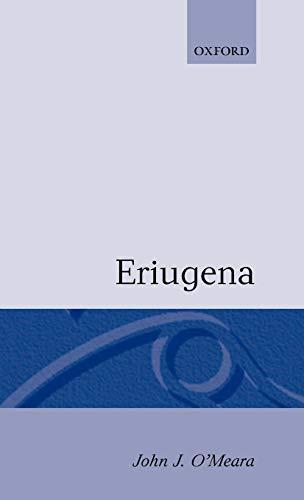 9780198266747: Eriugena