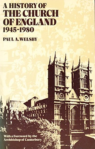 9780198266891: History of the Church of England, 1945-1980