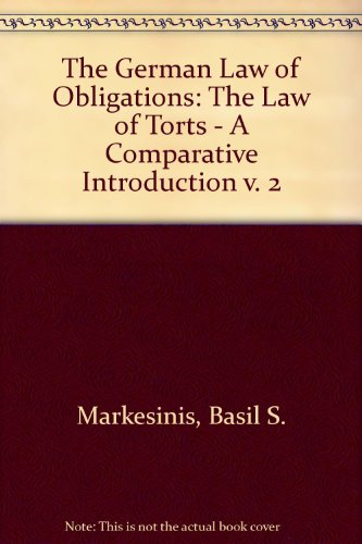 9780198267683: 002: The German Law of Obligations